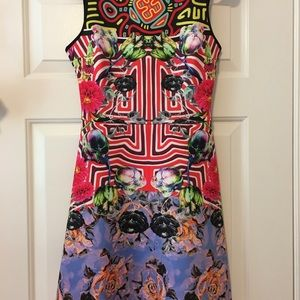 NWT Clover Canyon neoprene dress